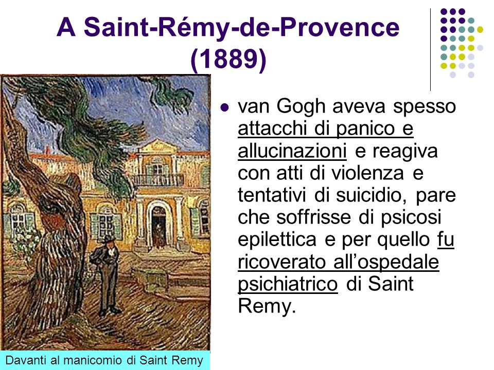 A Saint-Rémy-de-Provence (1889)