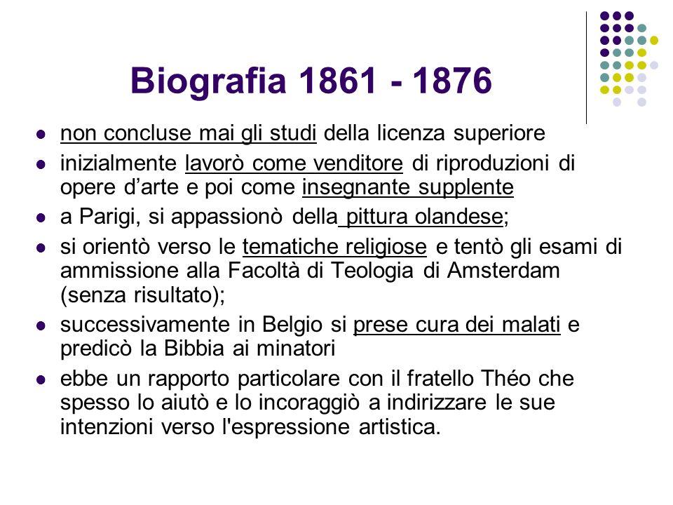 Biografia 1861 - 1876 non concluse mai gli studi della licenza superiore.