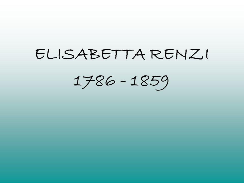ELISABETTA RENZI 1786 - 1859