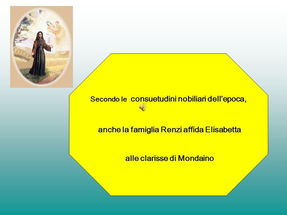 anche la famiglia Renzi affida Elisabetta alle clarisse di Mondaino
