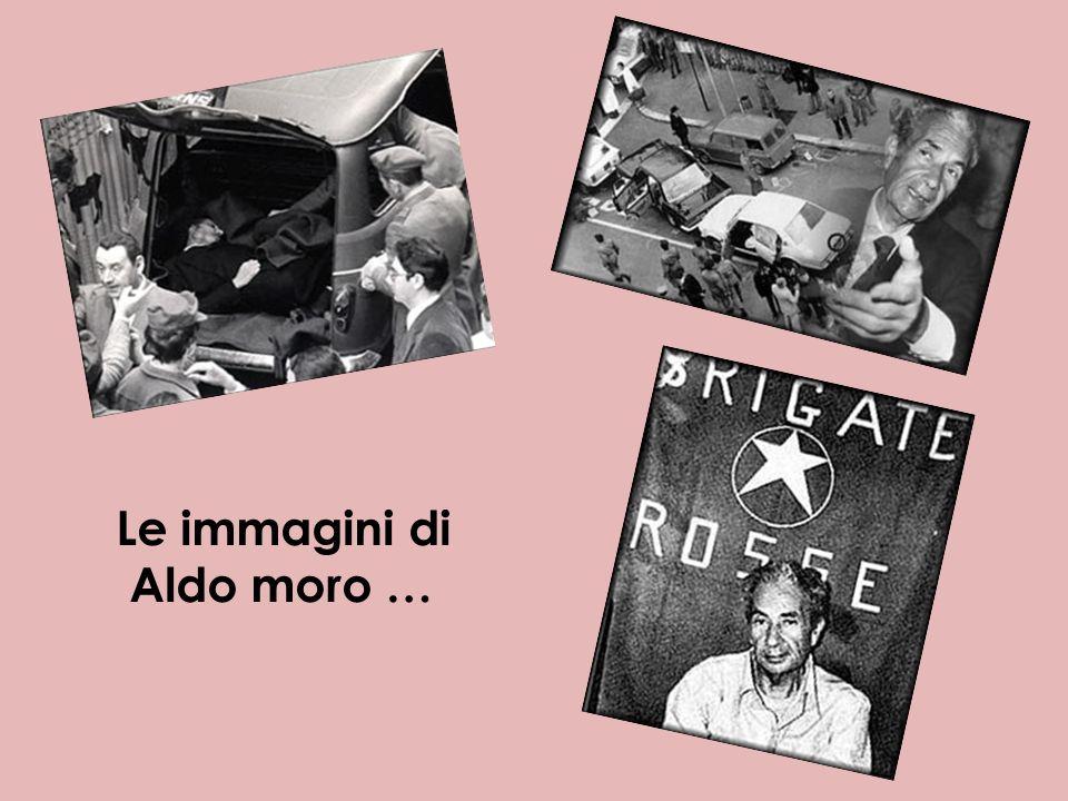 Le immagini di Aldo moro …