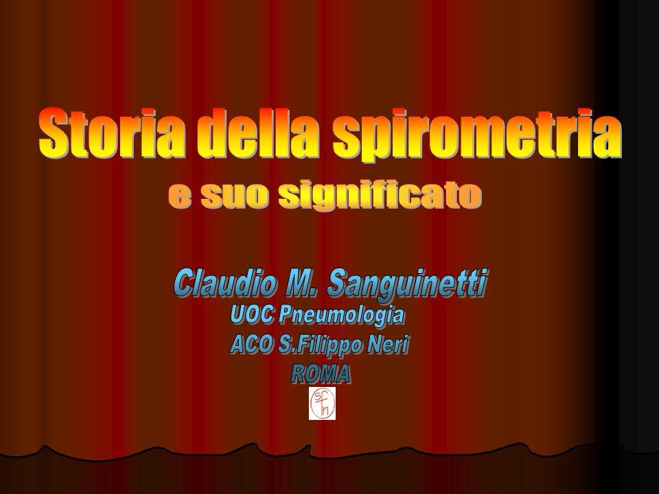 Storia della spirometria