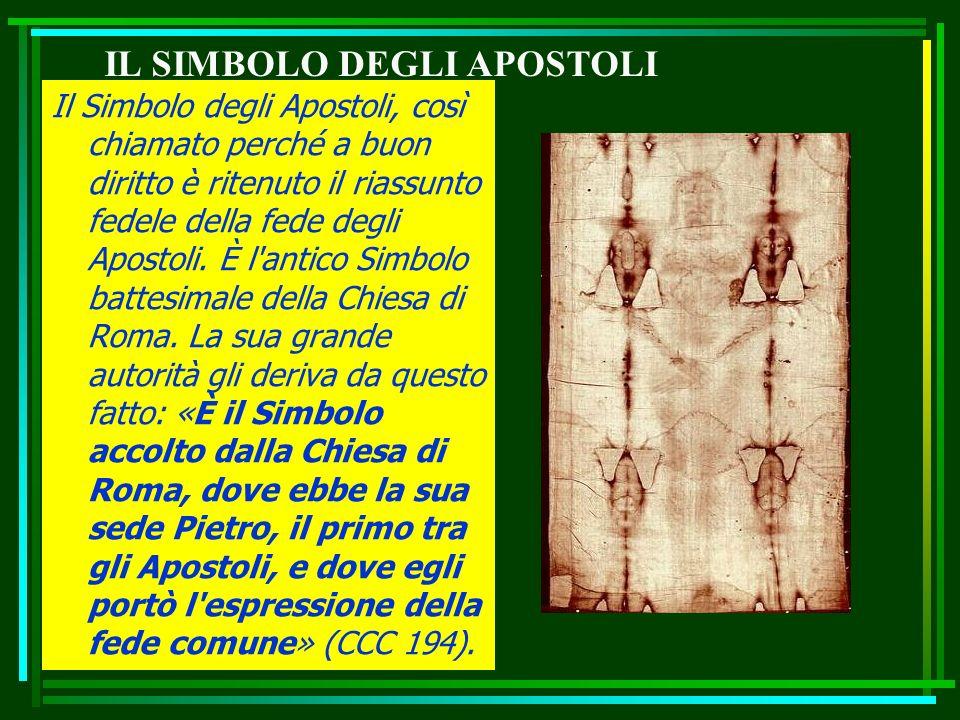 IL SIMBOLO DEGLI APOSTOLI
