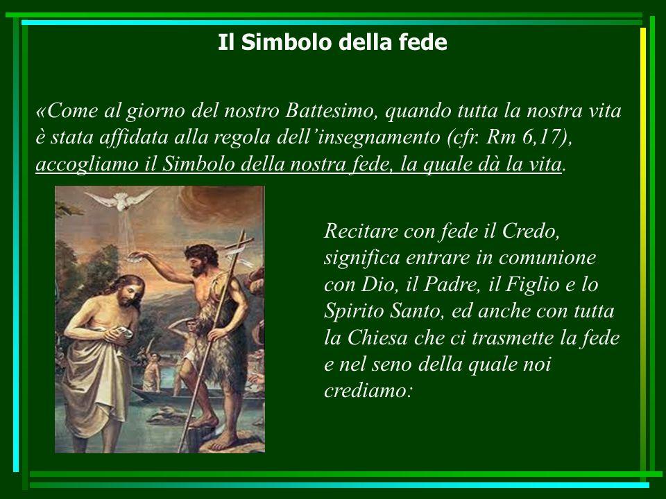 Il Simbolo della fede