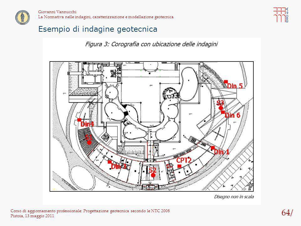 64/ Esempio di indagine geotecnica