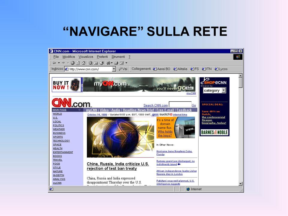 NAVIGARE SULLA RETE