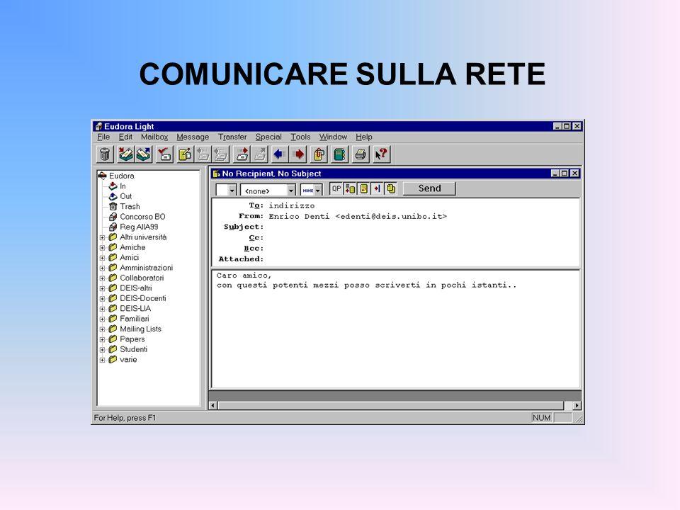 COMUNICARE SULLA RETE