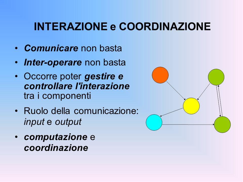 INTERAZIONE e COORDINAZIONE