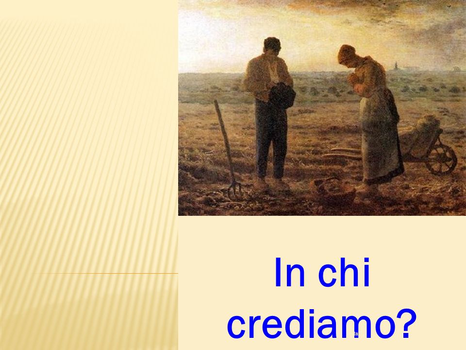 In chi crediamo ritardo