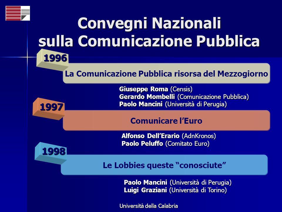 Convegni Nazionali sulla Comunicazione Pubblica