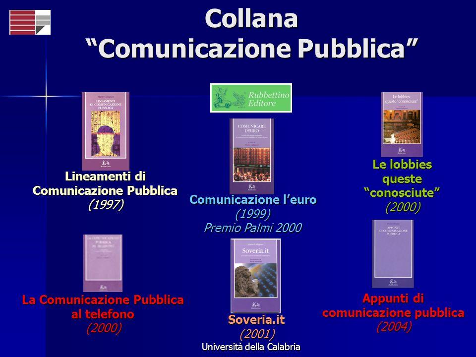 Collana Comunicazione Pubblica