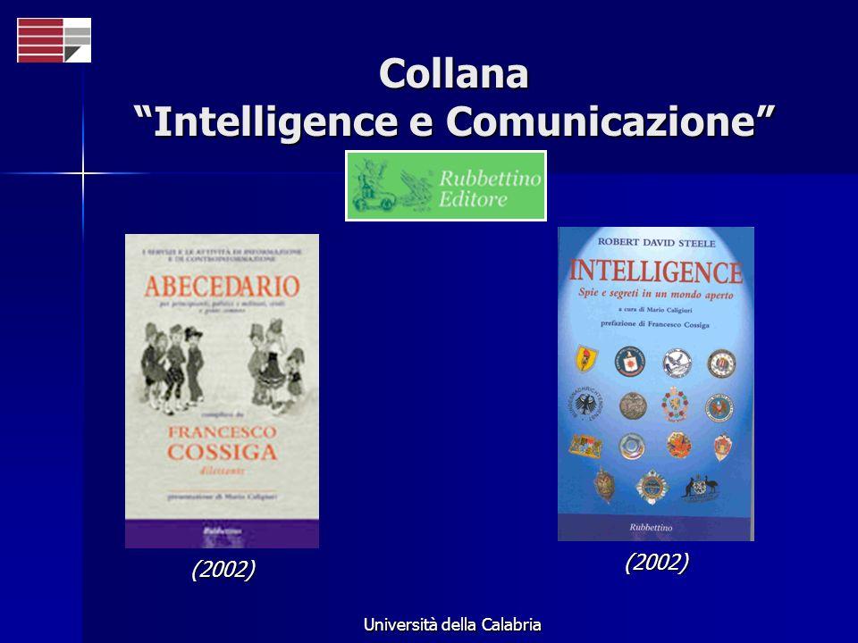 Collana Intelligence e Comunicazione