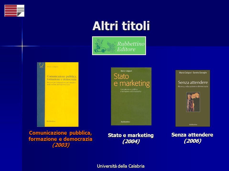 Comunicazione pubblica, formazione e democrazia