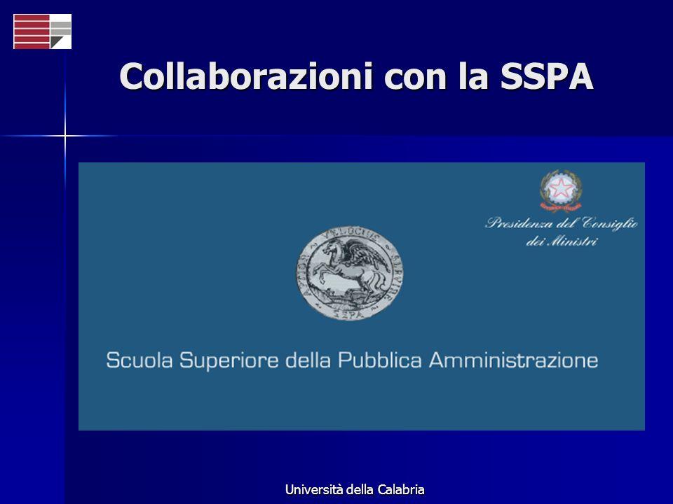 Collaborazioni con la SSPA