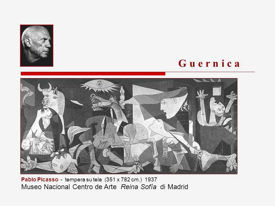 G u e r n i c a Museo Nacional Centro de Arte Reina Sofía di Madrid