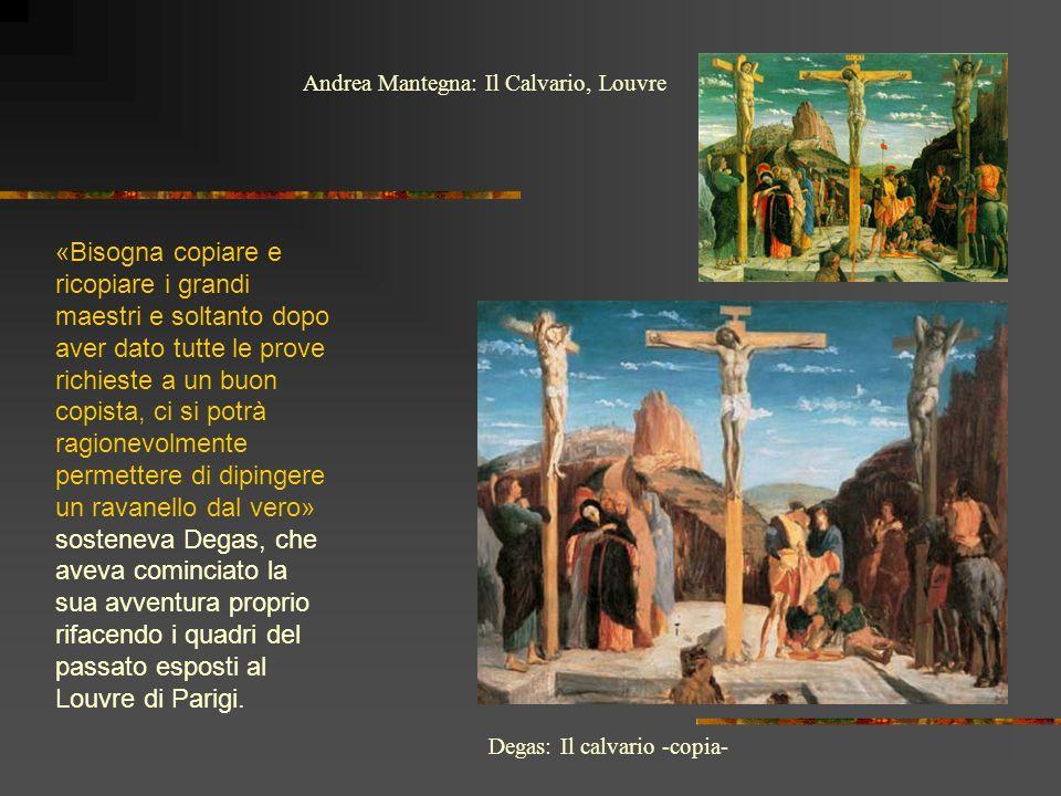 Andrea Mantegna: Il Calvario, Louvre