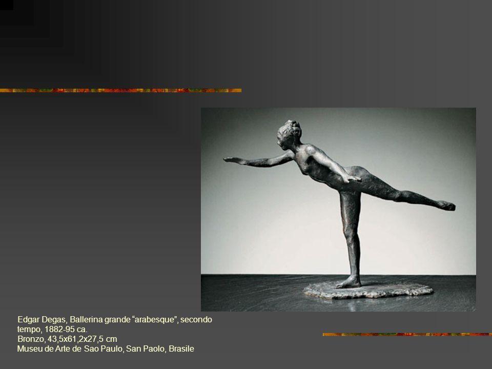Edgar Degas, Ballerina grande arabesque , secondo tempo, 1882-95 ca