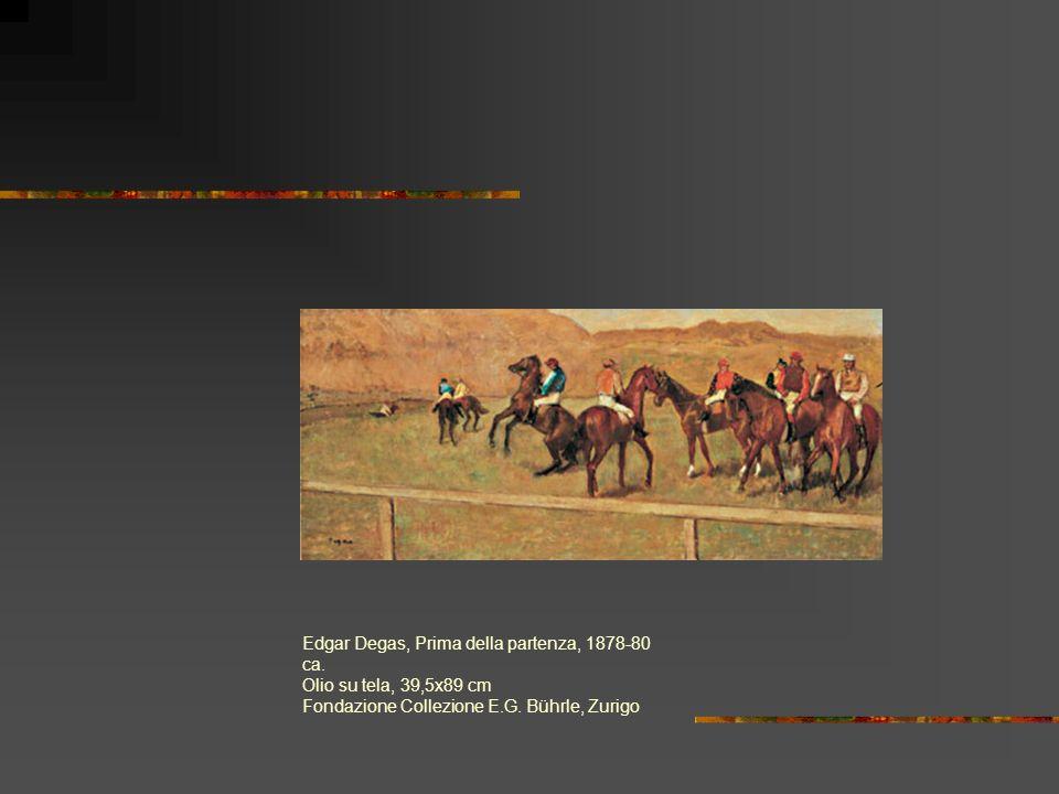 Edgar Degas, Prima della partenza, 1878-80 ca