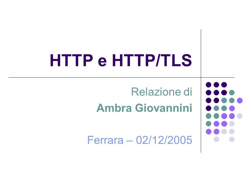 Relazione di Ambra Giovannini Ferrara – 02/12/2005