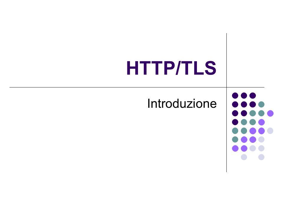 HTTP/TLS Introduzione