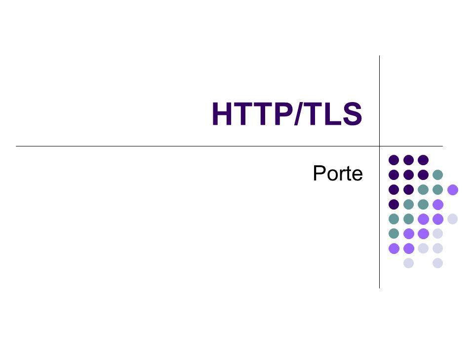 HTTP/TLS Porte