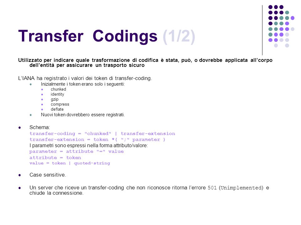 Transfer Codings (1/2)