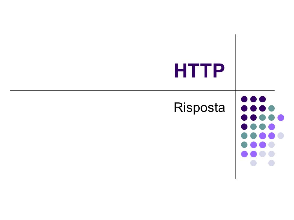 HTTP Risposta