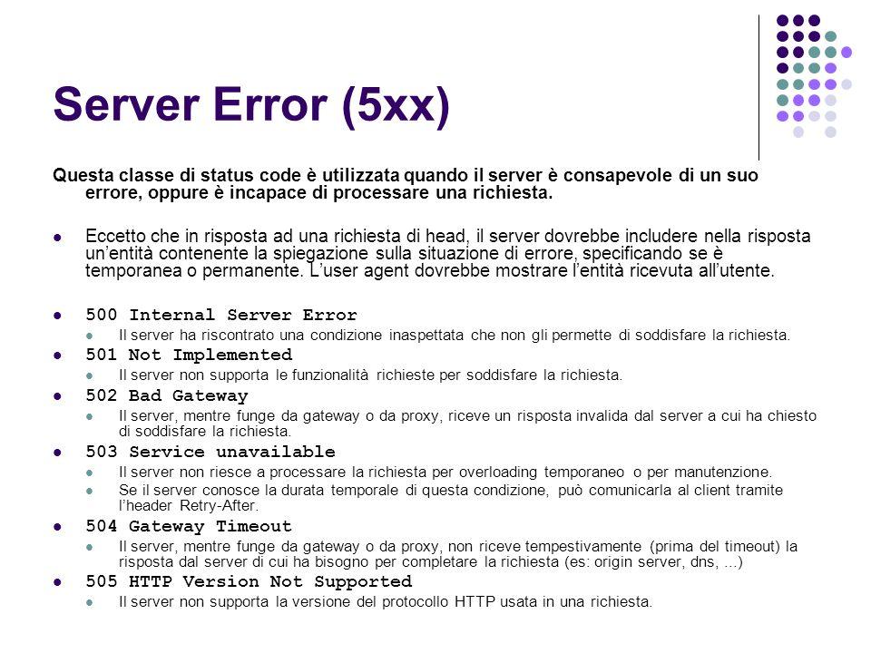Server Error (5xx)