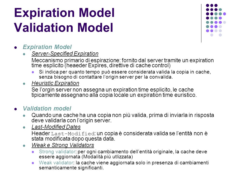 Expiration Model Validation Model
