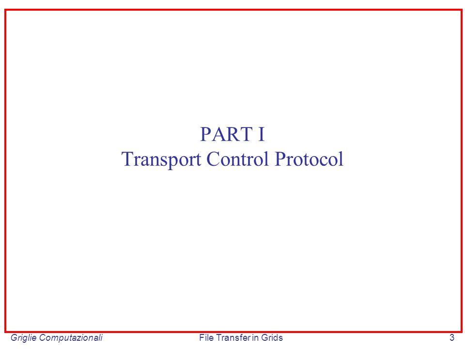 PART I Transport Control Protocol