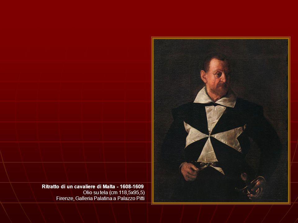 Ritratto di un cavaliere di Malta - 1608-1609
