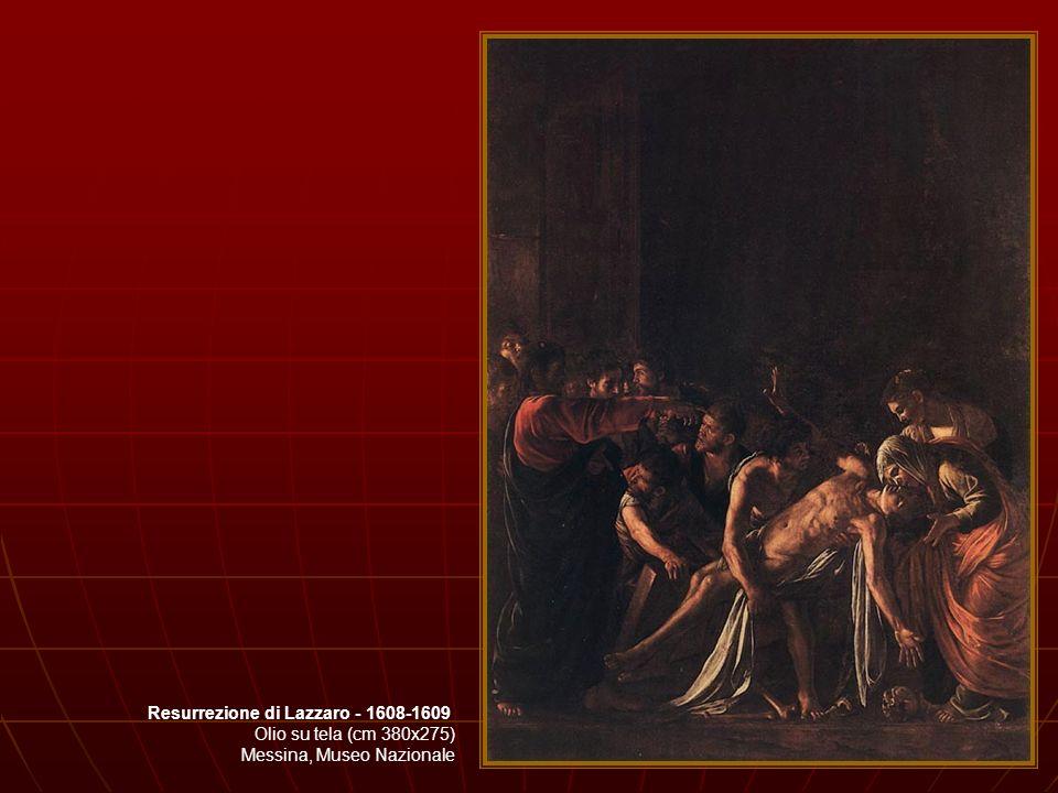 Resurrezione di Lazzaro - 1608-1609