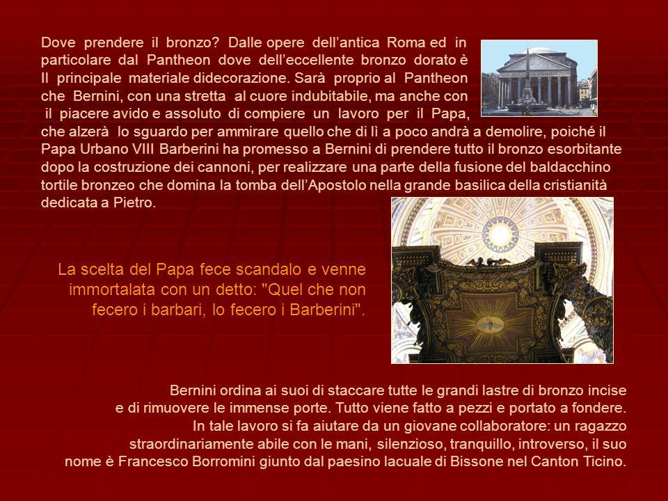 Dove prendere il bronzo Dalle opere dell'antica Roma ed in