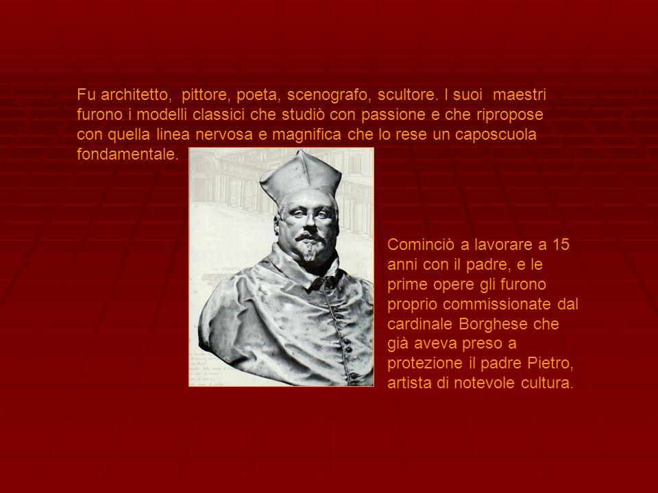 Fu architetto, pittore, poeta, scenografo, scultore