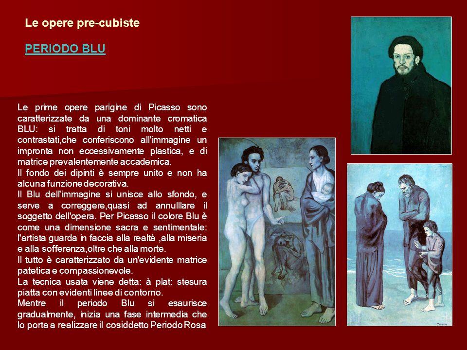 Le opere pre-cubiste PERIODO BLU