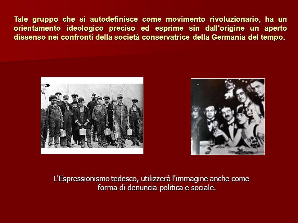 Tale gruppo che si autodefinisce come movimento rivoluzionario, ha un orientamento ideologico preciso ed esprime sin dall origine un aperto dissenso nei confronti della società conservatrice della Germania del tempo.