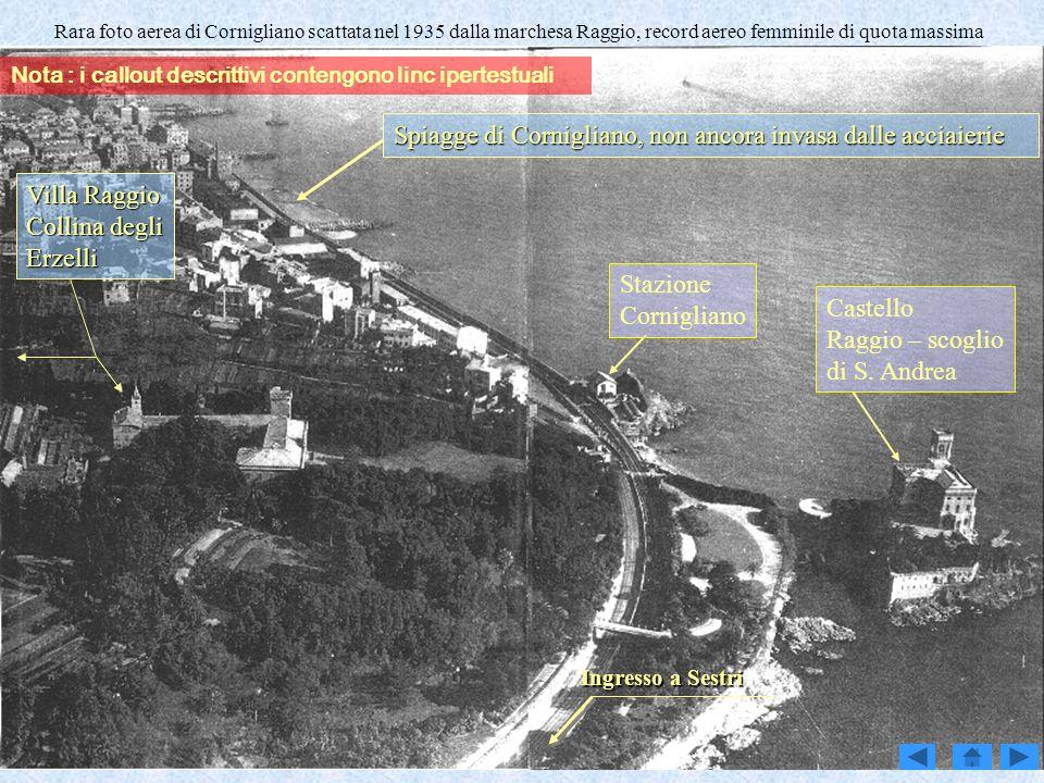 Spiagge di Cornigliano, non ancora invasa dalle acciaierie
