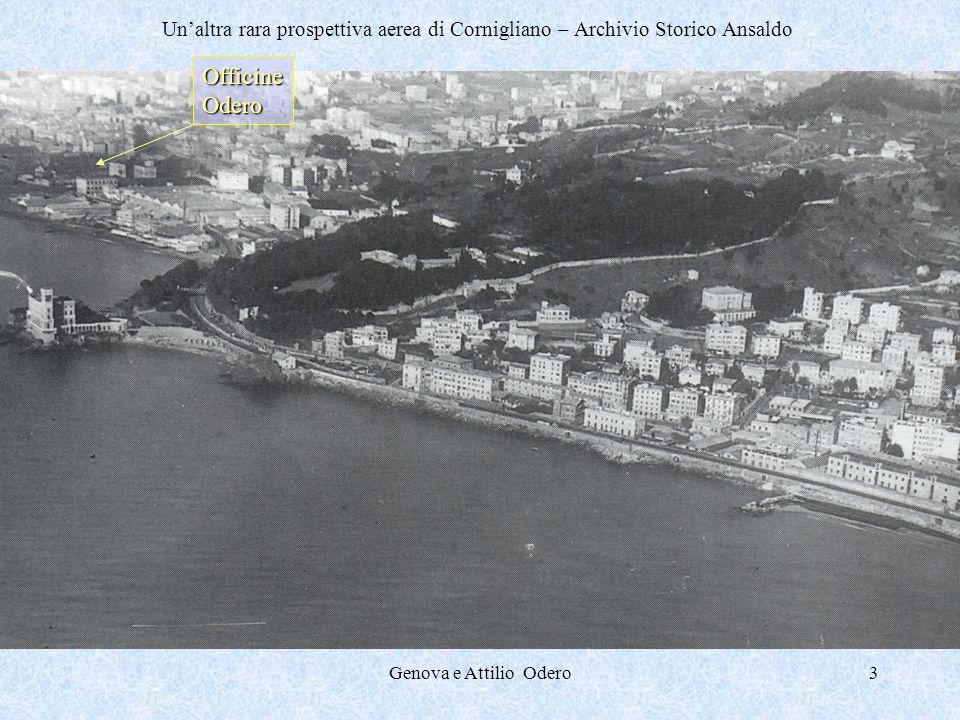 Un'altra rara prospettiva aerea di Cornigliano – Archivio Storico Ansaldo