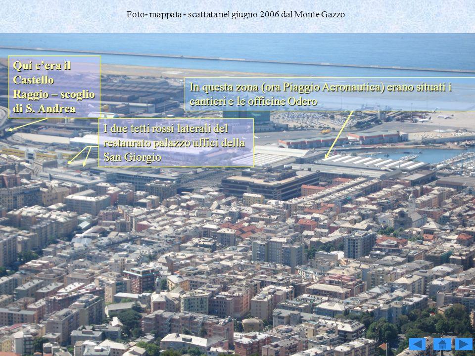 Foto- mappata - scattata nel giugno 2006 dal Monte Gazzo