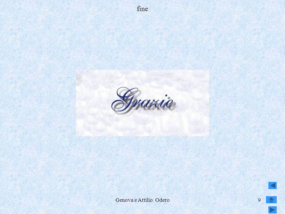 IPSIA Attilio Odero fine Genova e Attilio Odero