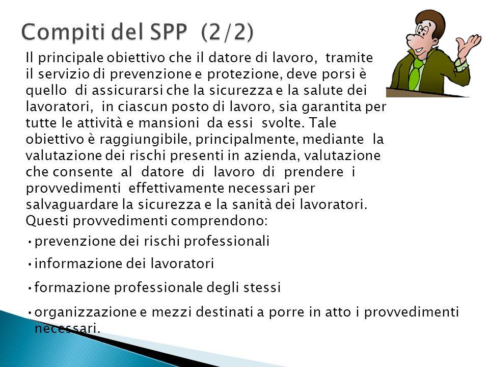 Compiti del SPP (2/2)