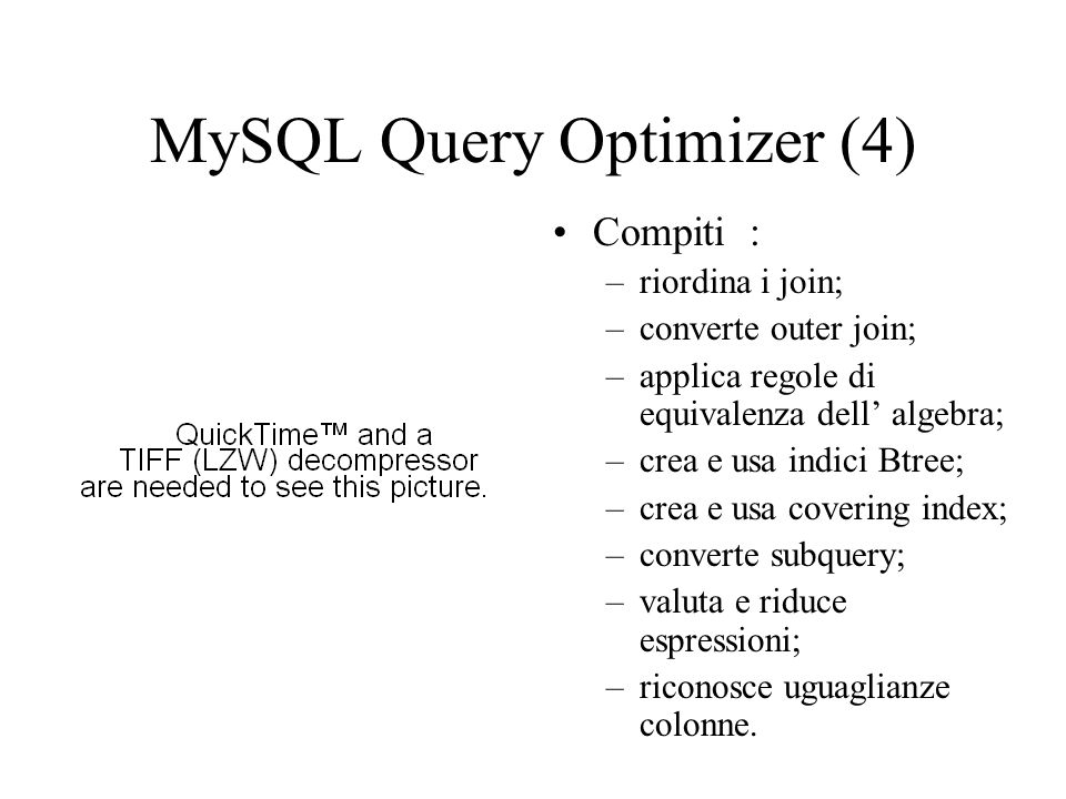 MySQL Query Optimizer (4)