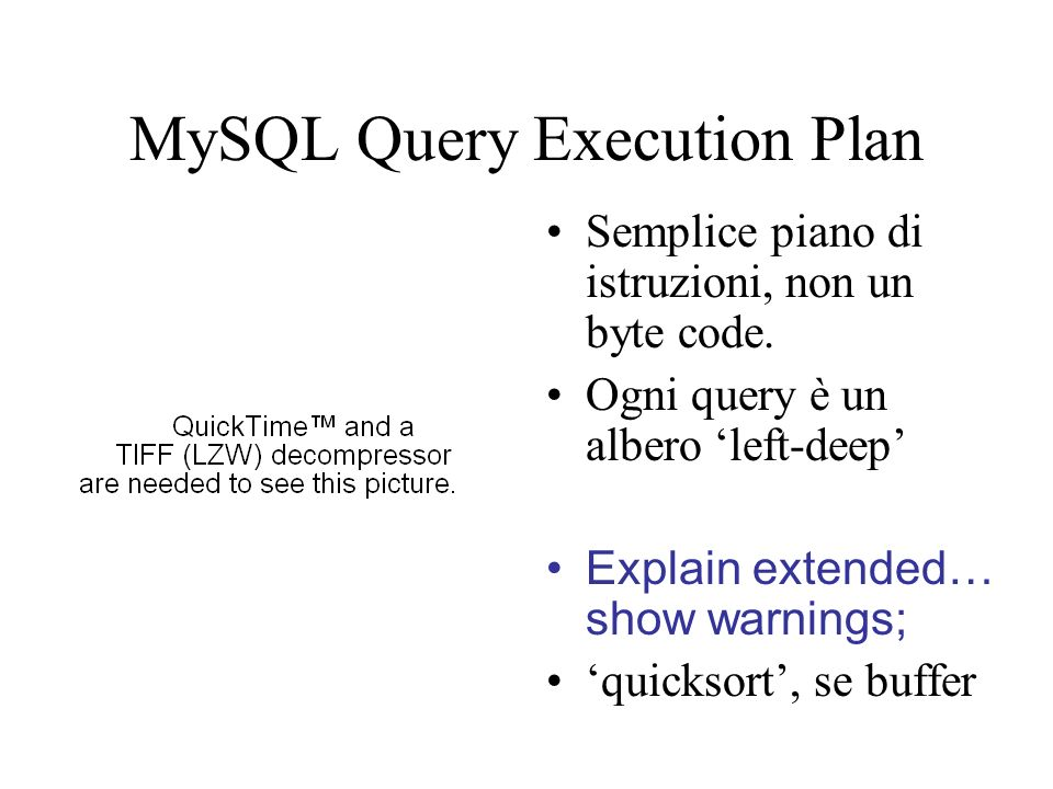 MySQL Query Execution Plan