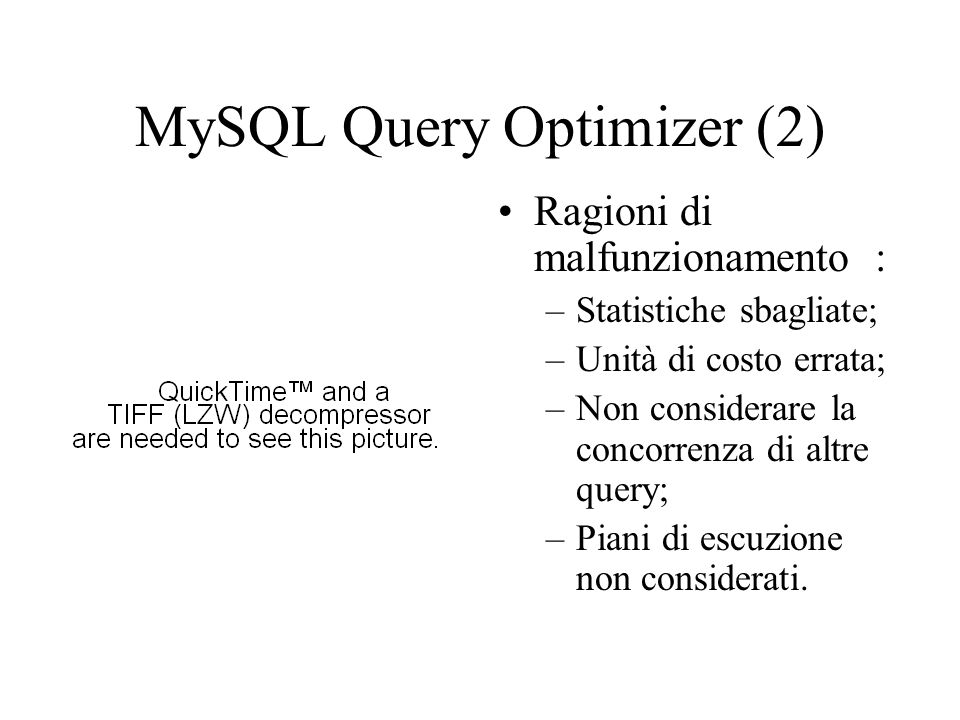 MySQL Query Optimizer (2)