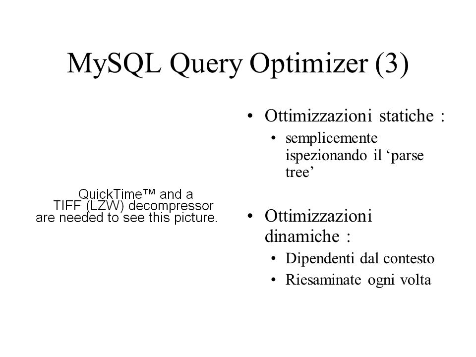 MySQL Query Optimizer (3)