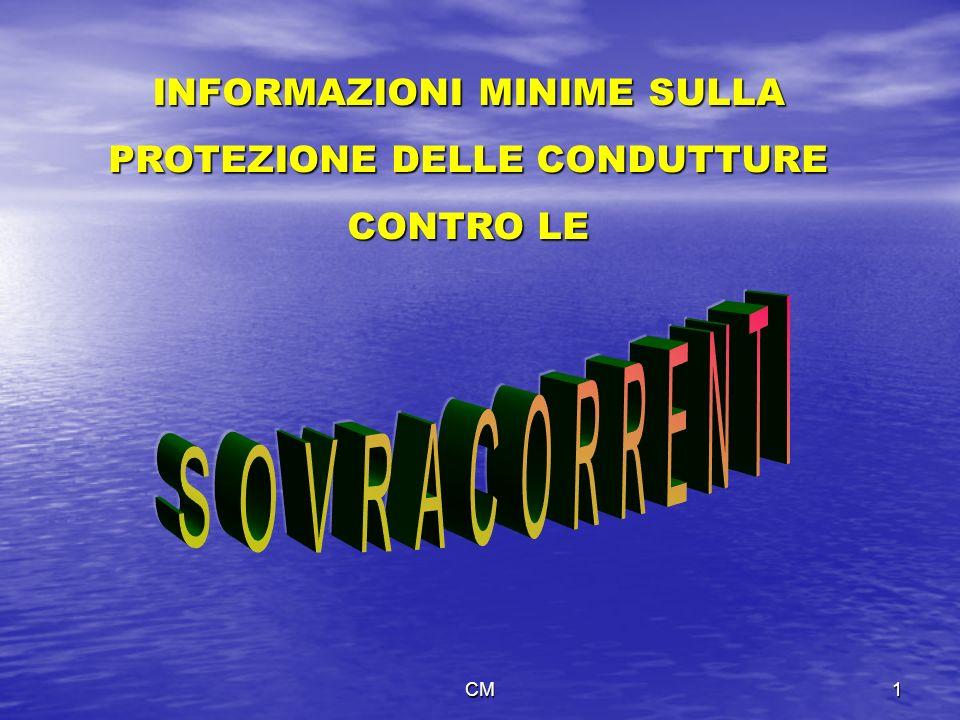 INFORMAZIONI MINIME SULLA PROTEZIONE DELLE CONDUTTURE
