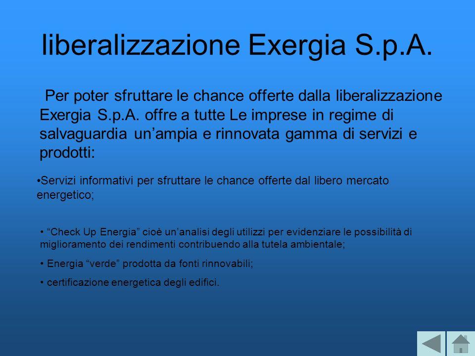 liberalizzazione Exergia S.p.A.