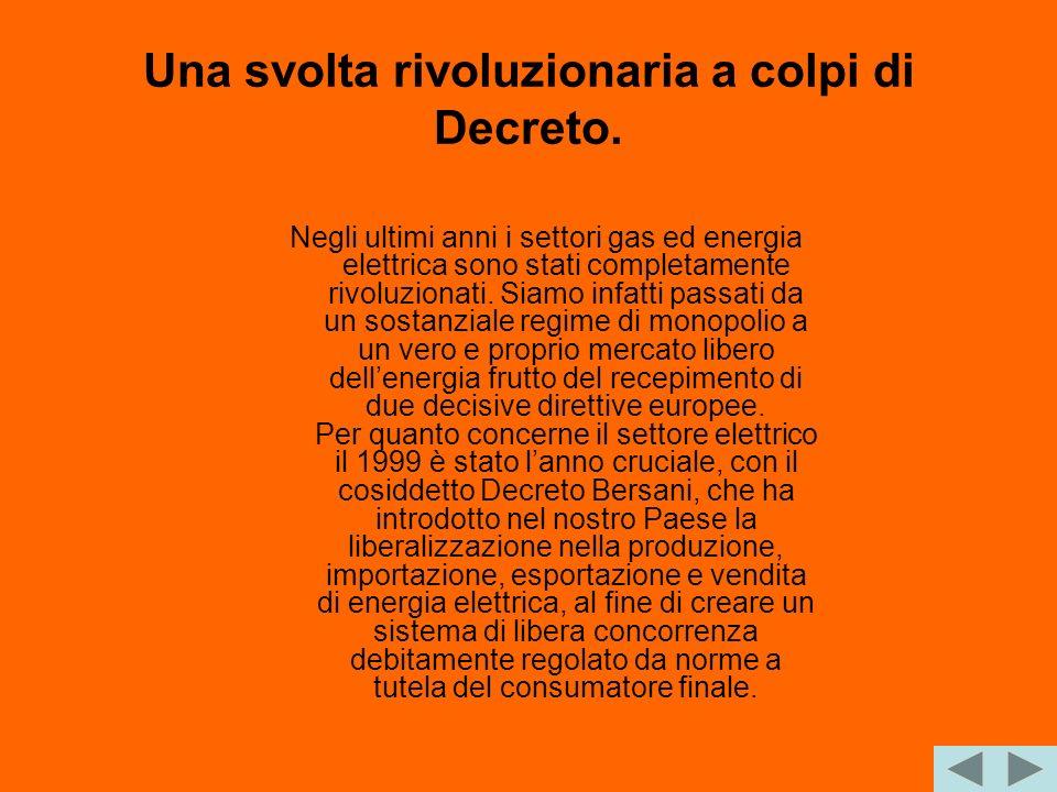 Una svolta rivoluzionaria a colpi di Decreto.