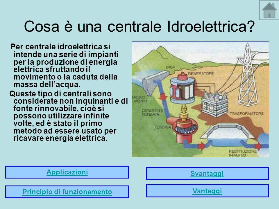Cosa è una centrale Idroelettrica