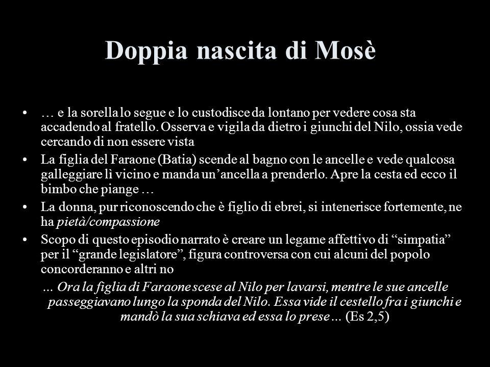 Doppia nascita di Mosè